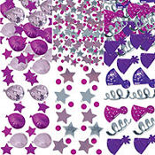 Birthday Celebration Pink Confetti 1.2oz