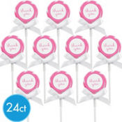 Bright Pink Lollipop Kit 24ct