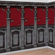 Gothic Mansion Room Rolls 40ft