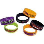 Halloween Wristbands 6ct