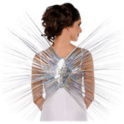 Tinsel Angel Wings