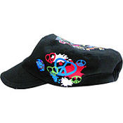 Neon Peace And Love Hat