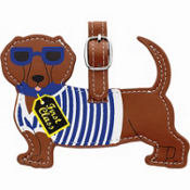 Dachshund Luggage Tag