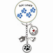 Dog Lover Keychain
