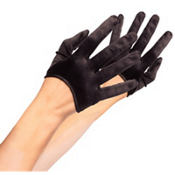 Mini Cropped Satin Gloves