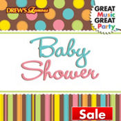 Baby Shower Nursery Rhyme CD