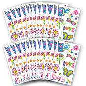 Diva Girl Tattoos 48 Sheets