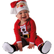 Baby Santa One Piece Pajama