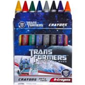 Transformers Crayons 8ct