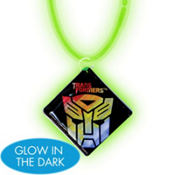 Transformers Necklace with Glow Pendant