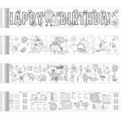 SpongeBob Mini Coloring Banners 4 Sheets
