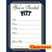 Pittsburgh Panthers Invitations 8ct