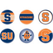 Syracuse Orange Buttons 6ct