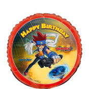 Foil Beyblade Balloon 18in
