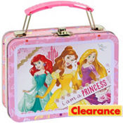 Disney Princess Metal Mini Lunch Box 5 1/2in x 4in