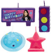 iCarly Mini Molded Cake Candles 4ct