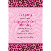 Fashion Forward Custom Invitation