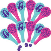 iCarly Paddle Balls 12ct