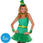 Adult St. Patrick's Day Lovely Leprechaun Kit 5pc