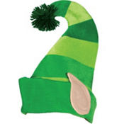 Striped Leprechaun Hat
