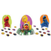 Sesame Street Centerpiece Kit 23pc
