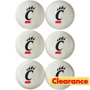 Cincinnati Bearcats Table Tennis Balls 6ct