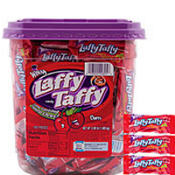 Cherry Laffy Taffy 145ct Tub