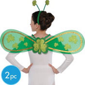 St. Patricks Day Fairy Childrens Costume Kit 2pc