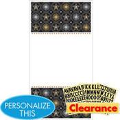 Glitter Starz Personalize It Door Decorating Kit 4pc