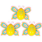 Butterfly Egg Candy Containers 3ct