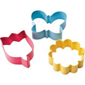 Flower Cookie Cutter Set 3ct