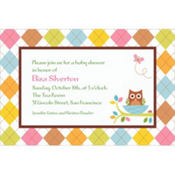 Whoo Loves You Custom Invitation