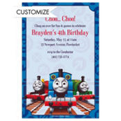 Thomas the Tank Engine Custom Invitations