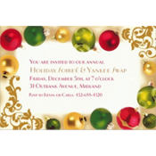 Merry Moments Custom Invitation