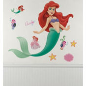 Disney Little Mermaid Wall Decal 40in
