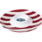 American Flag Chip & Dip Tray 13in