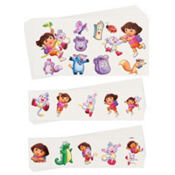 Dora Tattoo Value Pack 72pc