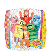 Foil Yo Gabba Gabba Balloon 18in