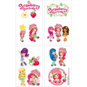Strawberry Shortcake Tattoos 16ct
