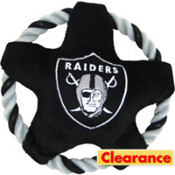 Oakland Raiders NFL Star Rope Disk