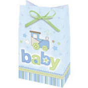 Carter's Boy Baby Shower Favor Bags 12ct