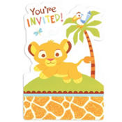 Lion King Baby Shower Invitations 8ct