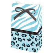 Blue Safari Baby Shower Favor Bags 12ct