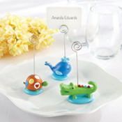 Ahoy Baby Boy Place Card Holder Baby Shower Favors 3ct