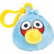 Blue Angry Birds Backpack Clip