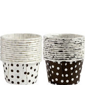Polka Dot Nut & Party Cups 24ct