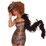 Adult Leopard Print Pimpette Dress