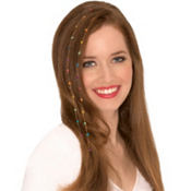 Rainbow Gemstone Hair Extensions 2ct