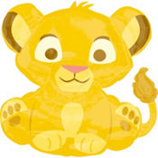 Foil The Lion King Baby Simba Balloon 25in
