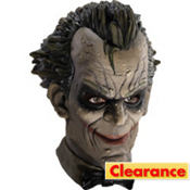 Latex Batman Arkham City Joker Mask Deluxe